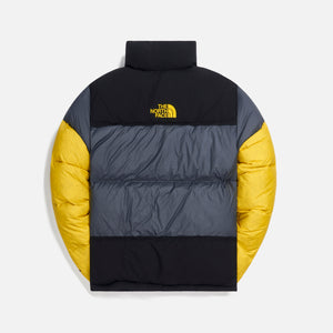 The North Face Steep Tech Down Jacket - Grey / Black / Yellow