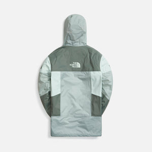 The North Face U Steep Tech Light Rain Jacket - Wrought Iron / Green