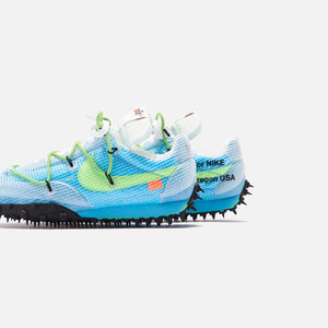 Nike x Off-White WMNS Waffle Racer - Vivid Sky / Electric Green