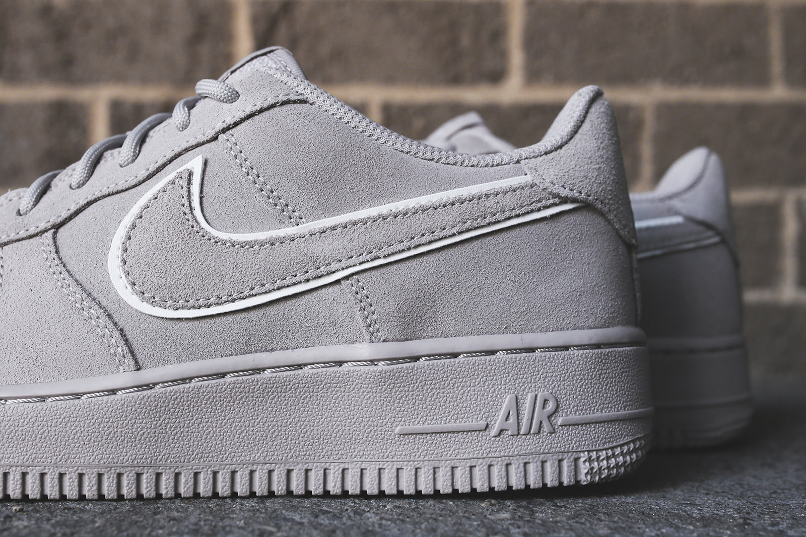 Nike Grade School Air Force 1 LV8 - Moon Particle