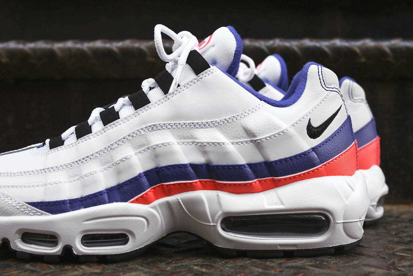9056613a7f Buy nike air max 95 red white blue > up to 75% Discounts