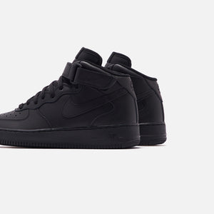 Nike Air Force 1 Mid - Black Image 4