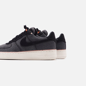 Nike Air Force 1 '07 PRM Low - Black / Summit White Image 5
