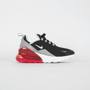 Nike Grade School Air Max 270 - Black / White Ember Glow / Wolf Grey
