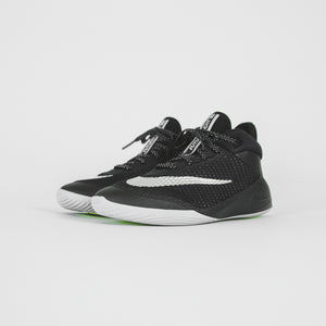 Nike Grade School Future Flight - Black / Metallic Silver / White / Volt