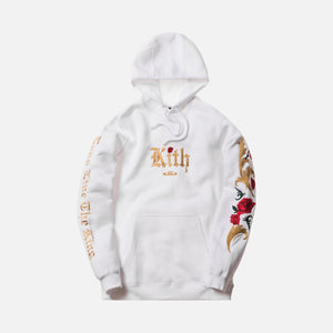 buy online 31111 99079 Kith x Nike LeBron Cloak Hoodie - White   Multi