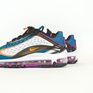 Nike Air Max Deluxe BG - Cool Grey / Total Orange / Blue
