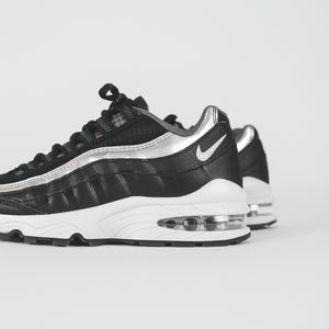Nike Grade School Air Max 95 Y2K - Black / Metallic Silver / Dark Grey / Pure Platinum