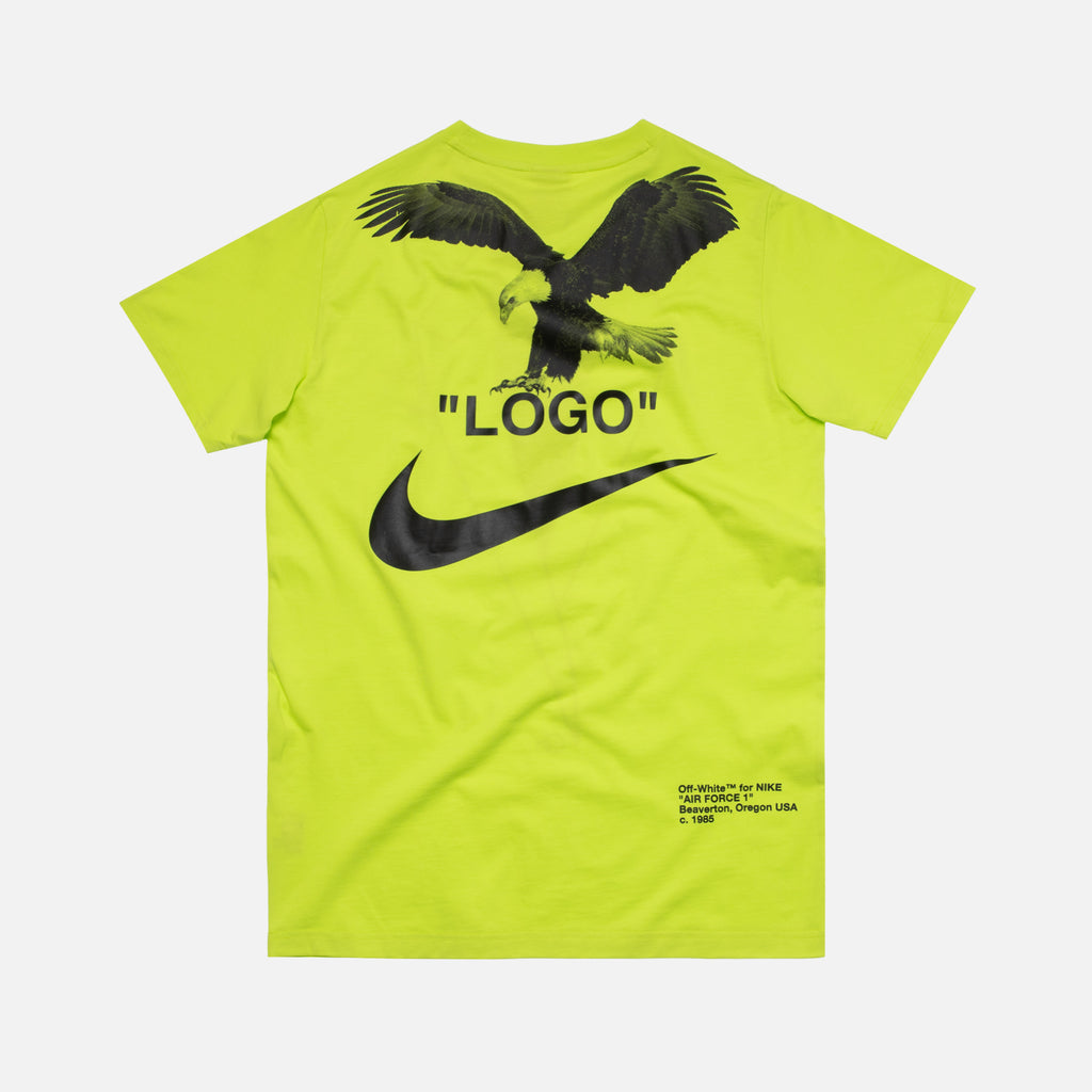 incluir Taxi No puedo  Nike x Off-White NRG A6 Tee - Cyber Yellow – Kith