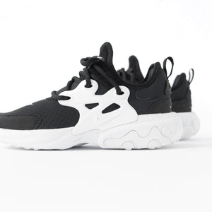 Nike GS Presto React - Black / White