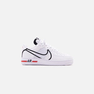 Miau miau blanco como la nieve Enojado  Nike Air Force 1 React - White / Black / University Red – Kith