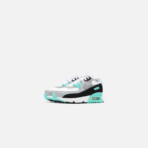 Nike Pre-School Air Max 90 LTR - White / Particle Grey / Light Smoke Image 3