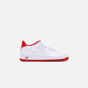 Nike Grade School Air Force 1 - White / Team Red Image 1