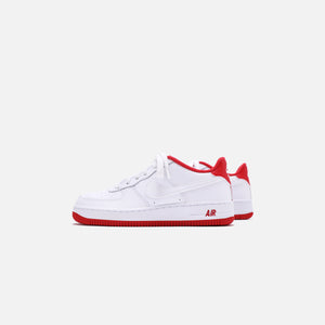 Nike Grade School Air Force 1 - White / Team Red Image 4