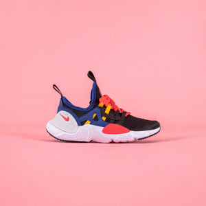 Nike PS Huarache E.D.G.E - Black / White / Solar Red / Indigo Force