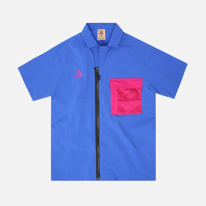 Nike NRG ACG Button-Up - Game Royal / Sport Fuchsia Image 1
