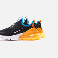 Nike Grade School Air Max 270 - Extreme Black / Metallic Silver / Orange Thumbnail 1