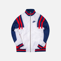 Nike Woven Re-issue Jacket - White / Blue / Red Thumbnail 1