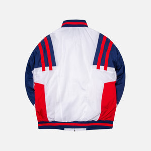 Nike Woven Re-issue Jacket - White / Blue / Red Image 2