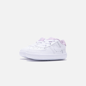 Nike Crib Air Force 1 - White / White Iced / Lilac