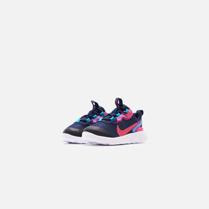Nike Toddler Renew Element 55 - Blackened Blue / Watermelon / Purple Image 3
