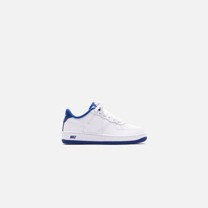 Nike Pre-School Air Force 1 - White / Deep Royal Blue