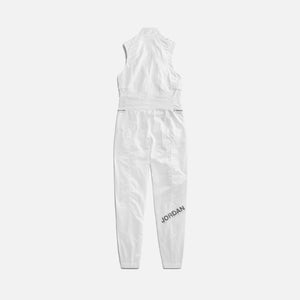 Nike WMNS Jordan Flight Suit - White / Reflective Silver Image 2