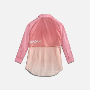 Nike WMNS Jordan Windbreaker - Desert Berry / Laser Orange