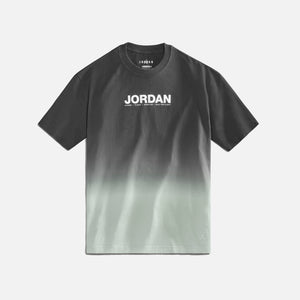 Nike WMNS Jordan Tee - Particle Grey / Black / Reflective Silver Image 1