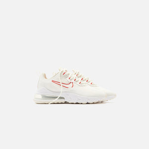 Nike WMNS Air Max 270 React - Summit White / Siren Red