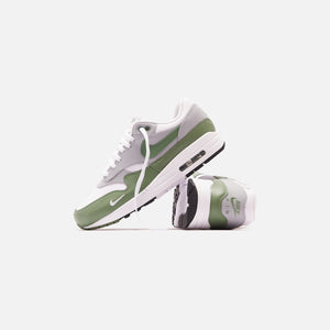 Nike Air Max 1 - White / Spiral Sage / Wolf Grey / Black