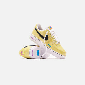 Nike Air Force 1 `07 LV8 - Speed Yellow / Black / Laser Blue