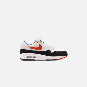 Nike Air Max 1 - White / Chile Red / Photon Dust