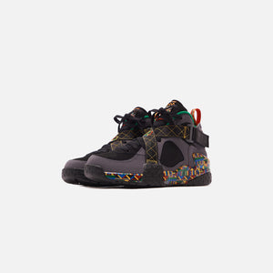 Nike Air Raid - Dark Grey / Black / Multicolor / Pine Green