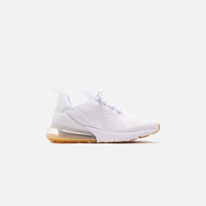 Nike Air Max 270 - White / Gum Light Brown