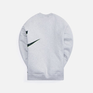 Nike x Kim Jones Fleece Crew - Grey Heather