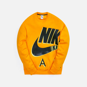Nike x Kim Jones Fleece Crew - Circuit Orange