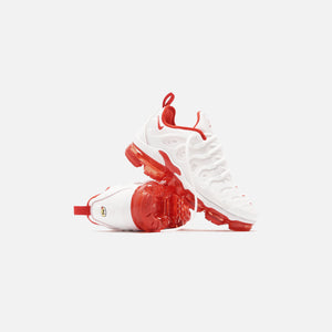 Nike Vapormax Plus - Varsity White / University Red