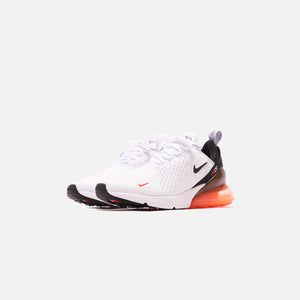 Nike Air Max 270 - White / Black / Wolf Grey / Bright Crimson