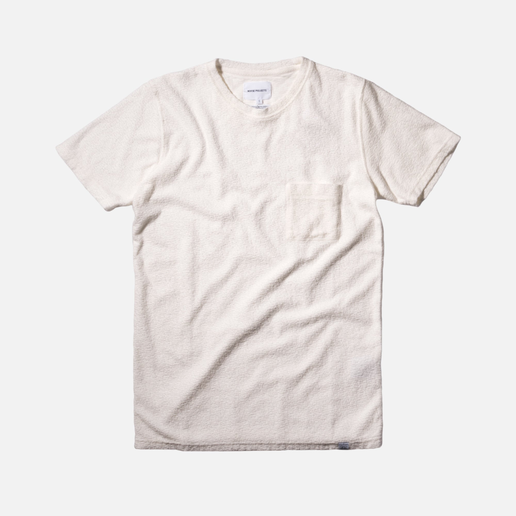 Norse Projects Niels Japanese Pocket Tee - White