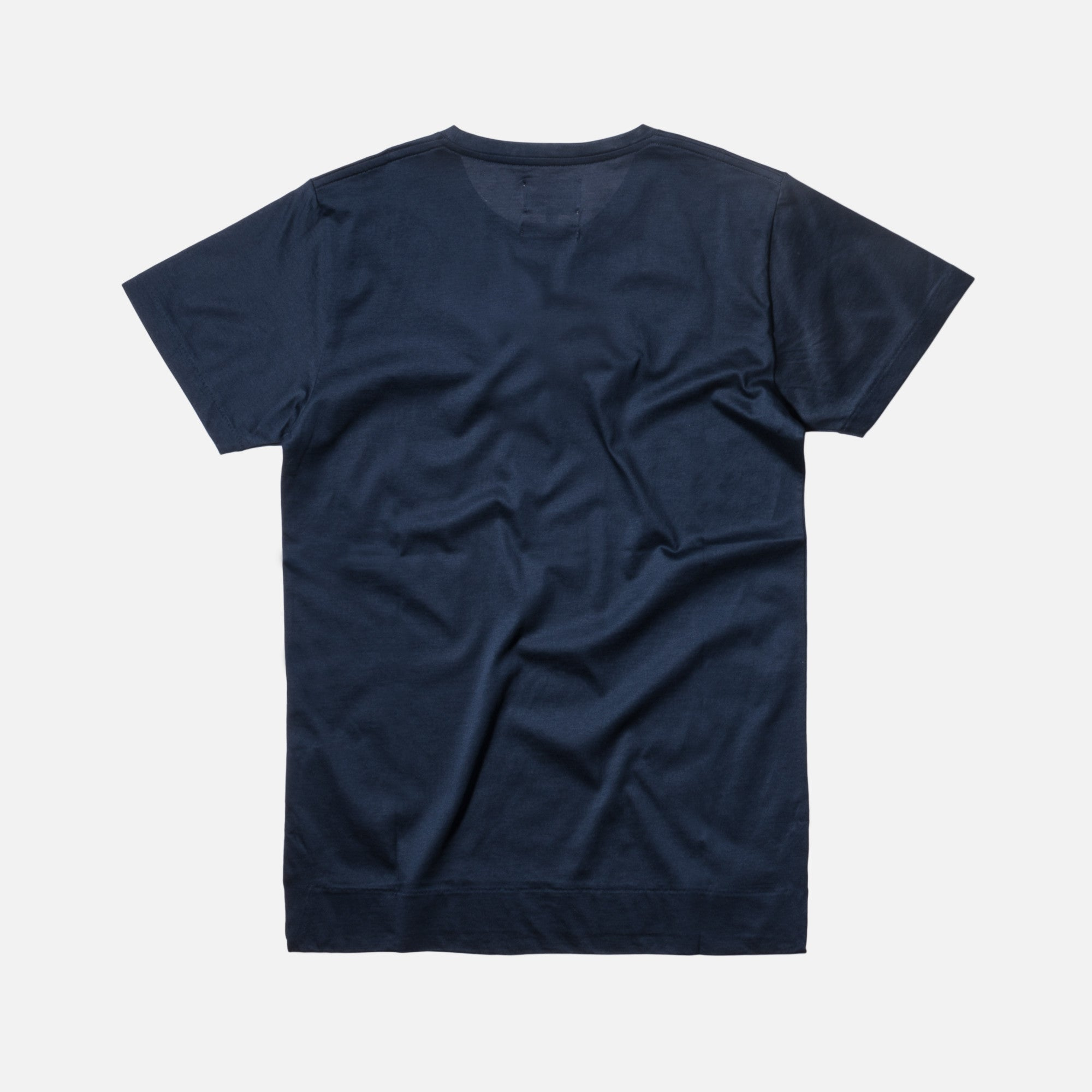 Norse Projects Esben Blind Stitch Tee - Navy