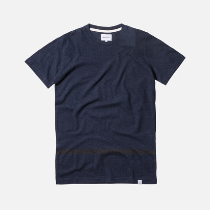 Norse Projects Niels Bubble Tee - Dark Navy
