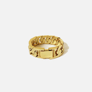 Numbering XL Link Bracelet - Gold