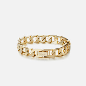 Numbering Medium Link Bracelet - Gold Image 1