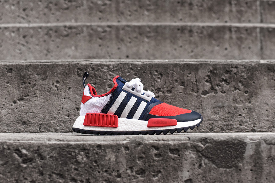 adidas x White Mountaineering NMD R1 Trail - Red / White / Blue