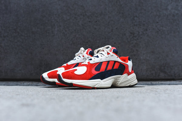 adidas Originals Yung 1 - Red / White / Collegiate Navy