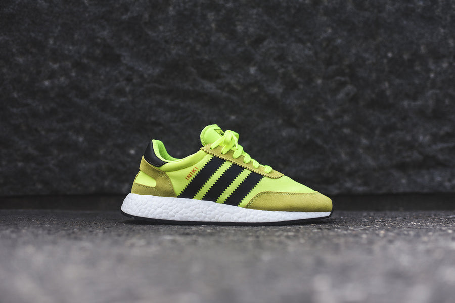 adidas Originals Iniki Runner - Sollar Yellow / Black / White