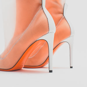 Heron Preston WMNS Neoprene Bootie - Orange Image 6