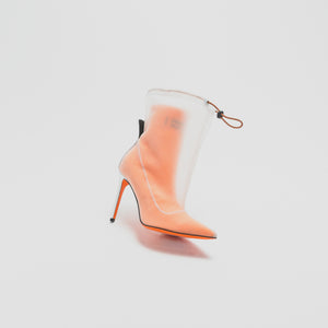 Heron Preston WMNS Neoprene Bootie - Orange Image 2