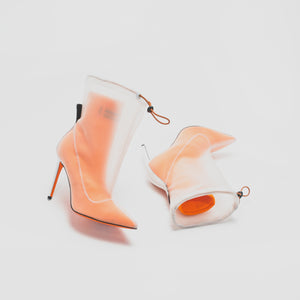 Heron Preston WMNS Neoprene Bootie - Orange Image 3